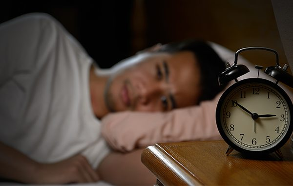 What's the cause of insomnia?